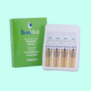 Стимулант за коса с растителна плацента - 4 ампули по 10мл. 12 кутийки в търговска опаковка.