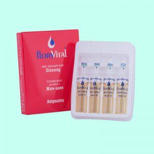 Стимулант за коса с Жен-Шен - 4 ампули по 10мл. 12 кутийки в търговска опаковка