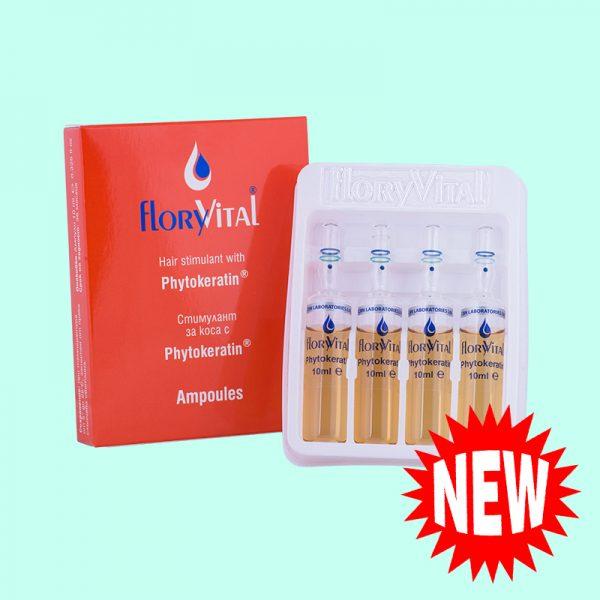 Стимулант за коса с Phytokeratin - 4 ампули по 10мл. 12 кутийки в търговска опаковка.